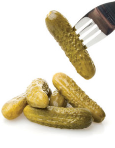 Pickles, and one on fork