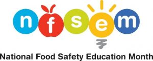 National Food Safety Education Month logo