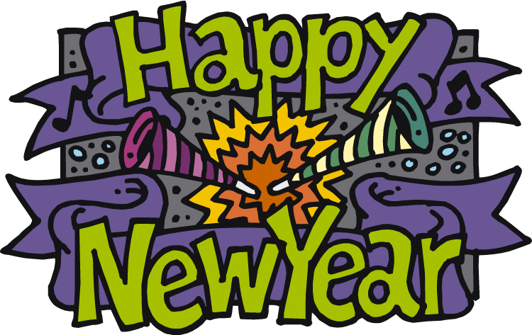 Happy New Year animated graphic