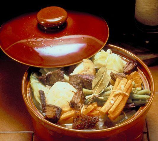 Pot of Kentucky Burgoo