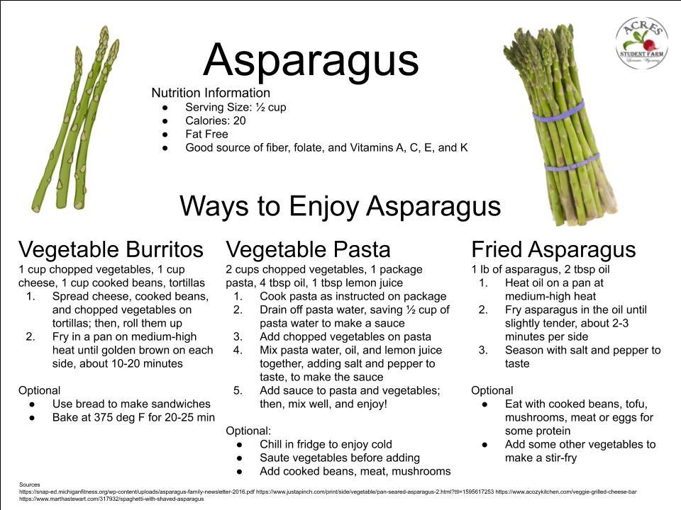 Asparagus Flier