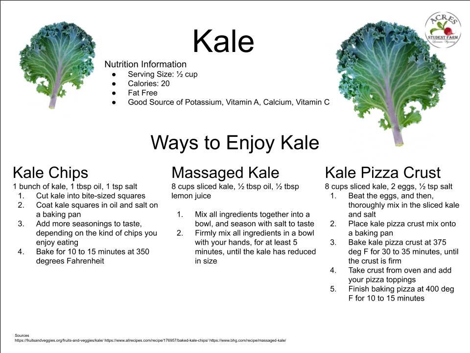Kale Flier