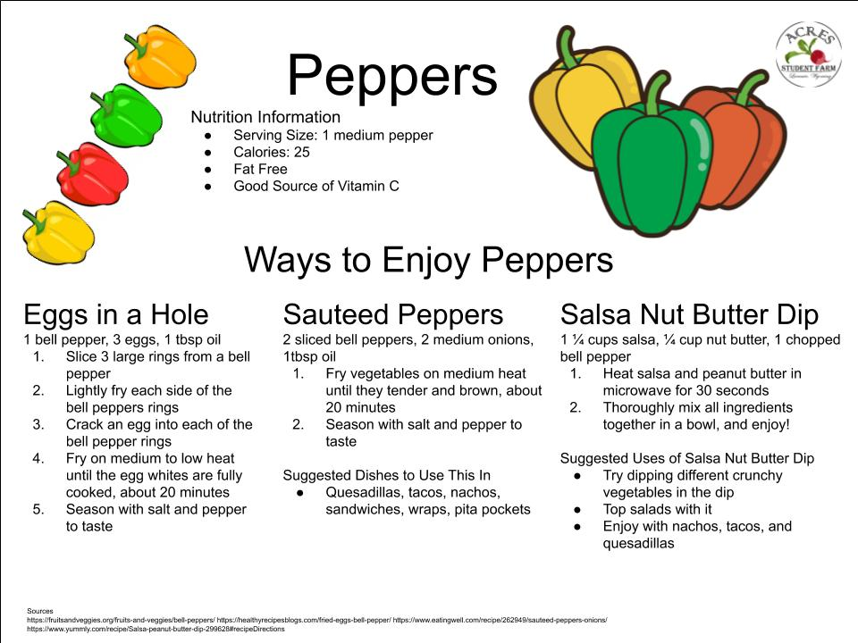 Peppers Flier