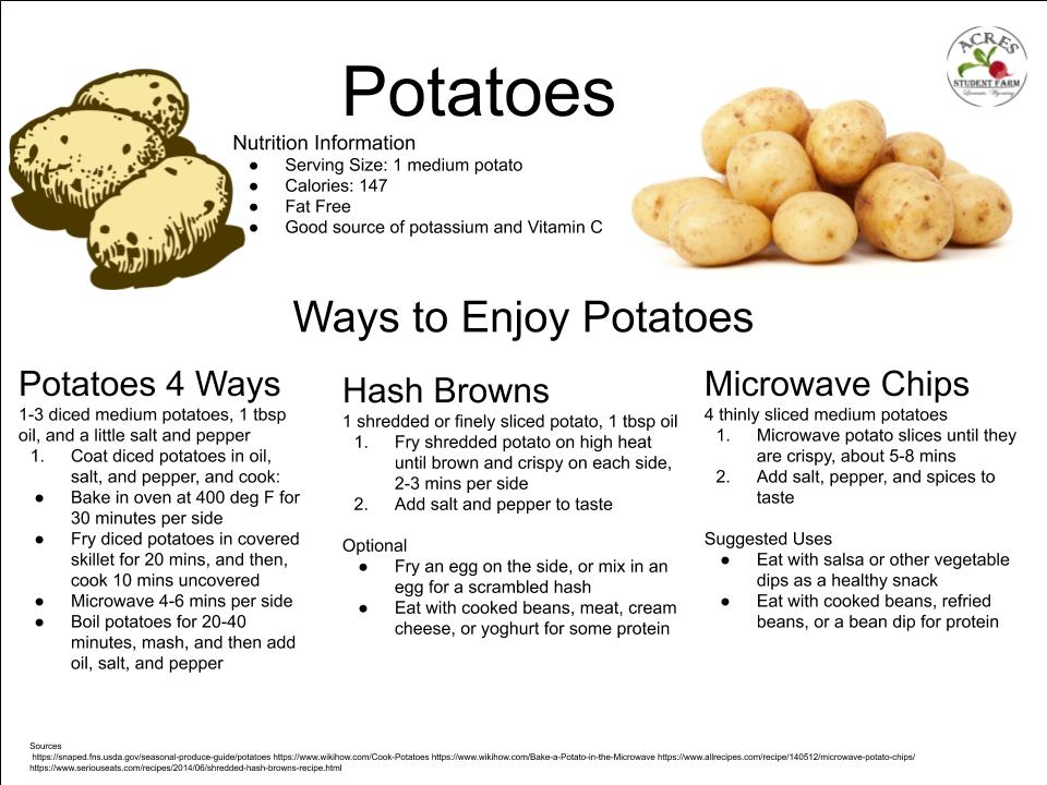 Potatoes Flier