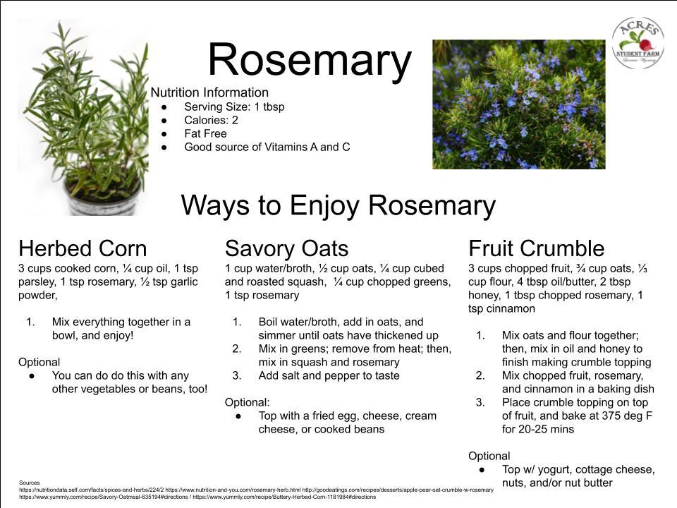 Rosemary Flier