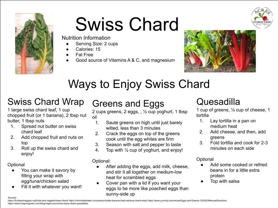 Swiss Chard Flier
