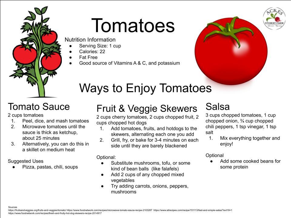 Tomatoes Flier