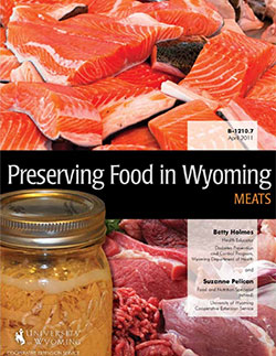 Preserving Food in Wyoming - Meat